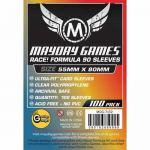 MDG7132 Race Formula Sleeves 55mm x 80mm (90) Mayday Games