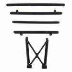 RED69504R Front Bumper Brace and Roll Cage Side Rails Assembly V2