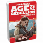 FFGUSWA32 Star Wars Age Of Rebellion Analyst Specialization Deck Fantasy Flight Games