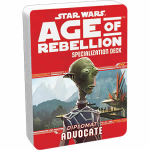 FFGUSWA33 Star Wars Age Of Rebellion Adovate Specialization Deck Fantasy Flight Games