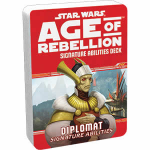 FFGUSWA35 Star Wars Age Of Rebellion Diplomat Signature Ablilities Deck Fantasy Flight Games