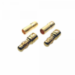 RCE2483S 3.5mm Bullet Plugs 2 Pair Racers Edge