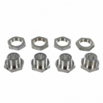 REDRCLH011PA Wheel Hex Lock Nuts Pack Of 4 Redcat Racing