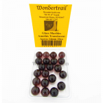 WONGM007 Amethis Transparent 14mm Glass Marbles Pack of 20