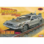 AMT93212 Back To The Future III Final Act Time Machine 25th Scale Model Polar Lights