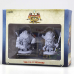 CMNAQ015 Tiaret And Mittens Arcadia Quest Miniatures CMoN