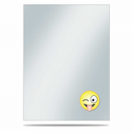UPR84753 Emoji Silly Deck Protector Sleeves 50ct Ultra Pro