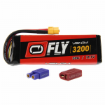 VEN-25007BAT Fly 30C 3S 3200mAh 11.1V LiPo Battery With Universal 2.0 Plug Venom