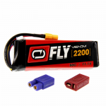 VEN-25033BAT Fly 50C 3S 2200mAh 11.1 LiPo Battery With Universal 2.0 Plug Venom