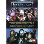 AEG5849 Lost Legacy Fourth Chronicle The Werewolf And Undying Heart Expansion Alderac Entertainment Group