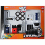 FEX18422 Repair Tire Shop Set Plastic Kit 24th Scale Phoenix Toys