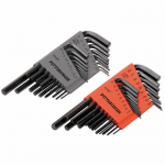 HFT94725 SAE And Metric Long Reach Hex Wrench Key Set 36pc HFT