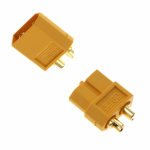 VEN-1709PA Amass XT60 Male And Female Connector Plug For Battery ESC And Charge Lead 1 Pair Venom