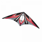 BRS72383 Red EZ Sports 70in Nylon Kite With Fiberglass Airframe Wind N Sun Brainstorm Kites