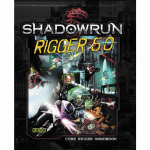 CAT27007 Rigger 5.0 Shadowrun Core Rigger Handbook 5th Edition Catalyst Game Labs