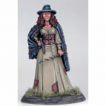 DSM1159 Female Witch with Wand and Dagger Miniature Elmore Masterwork