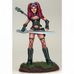 DSM1160 Goth Female Warrior with Sword Miniature Elmore Masterwork