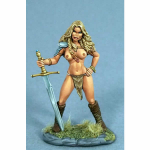 DSM1169 Amazon with Two Handed Sword Miniature Elmore Masterwork