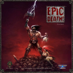 GASEPICD01 Epic Death Party Card Game Game Salute