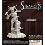 MRMSC001 Lady Dynamite SteamCity Magic Reality Miniatures
