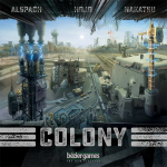 BEZCOLO Colony Science Fiction Strategy Game Bezier Games