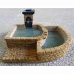 Nds1117 Old World Stone Fountain 15mm Scale
