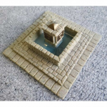 Nds1119 Town Square Fountain 28mm Scale