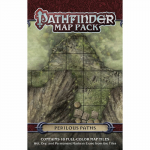 PZO4062 Perilous Paths Pathfinder Map Pack Paizo