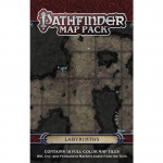 PZO4063 Labyrinths Pathfinder Map Pack Paizo
