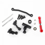 TX7538XPA Steering Bellcranks And Servo Saver And Spring And Spring Retainer And Posts And Draglink Traxxas