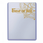 UPR84777 Force Of Will Stamped Logo Toploader Sleeves Ultra Pro