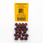 WONGM038 Grape Translucent Marbels 14mm Glass Marbles Pack of 20