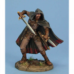 DSM7424 Male Dual Wield Assassin Miniature Visions In Fantasy