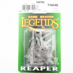 Rpr74046 Transparent Tall Flight Pegs