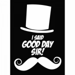LGNART065 Good Day Sir Standard Card Sleeves Pack Of 50 Legion