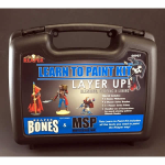 RPR08907 Layer Up Bones Miniatures Learn to Paint Kit Reaper Miniatures