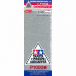 TAM87057 P1000 Finishing Abrasive Sheets 3 Pack Tamiya
