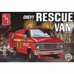 Amt81212 Chevy 1975 Rescue Van 1/25 Scale Plastic Model Kit AMT