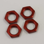 KYOIF222RPA Wheel Nut Red 11mm Inner X 17mm Outer Kyosho