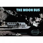 MOE2001-1 Moon Bus Space Odyssey Plastic Model Kit Moebius