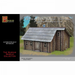 PEG7704 Russian Two Story Log House 1/72 Scale Pegasus