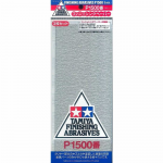 TAM87059 P1500 Finishing Abrasive Sheets 3 Pack Tamiya