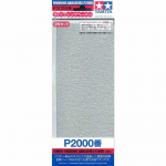 TAM87060 P2000 Finishing Abrasive Sheets 3 Pack Tamiya