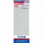 TAM87093 P240 Finishing Abrasive Sheets 3 Pack Tamiya