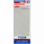 TAM87094 P320 Finishing Abrasive Sheets 3 Pack Tamiya