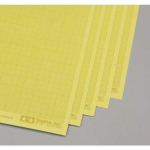 TAM87129 Masking Sticker Sheets With 1mm Grid Pack Of 5