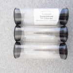 WONTUB33 Storage Tube 2in Diameter x 6in Long Pack of 3 Tubes