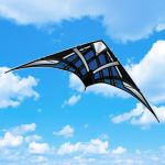 BRS72451 Blue NK-93 Passport Stunt Competition Sport Kite