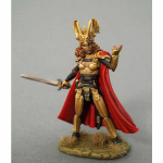 DSM1172 Cocky Female Knight With Sword Dark Sword Miniatures