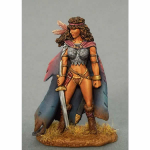 DSM1173 Female Ranger With Sword Dark Sword Miniatures
